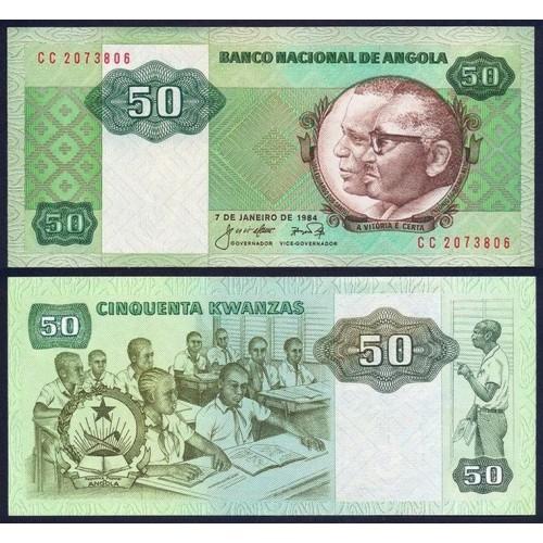 ANGOLA 50 Kwanzas 1984