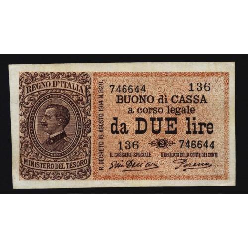 2 Lire 17.10.1921