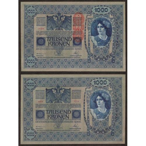 AUSTRIA 1000 Kronen 1902...