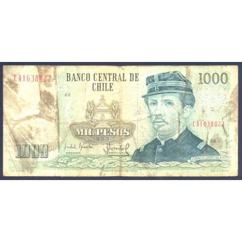 CHILE 1000 Pesos 1990