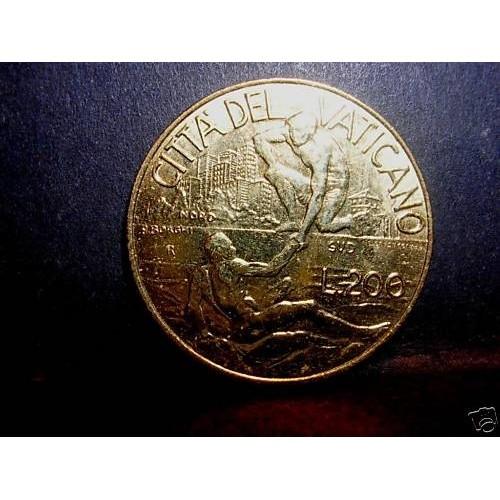 VATICANO 200 Lire 1998