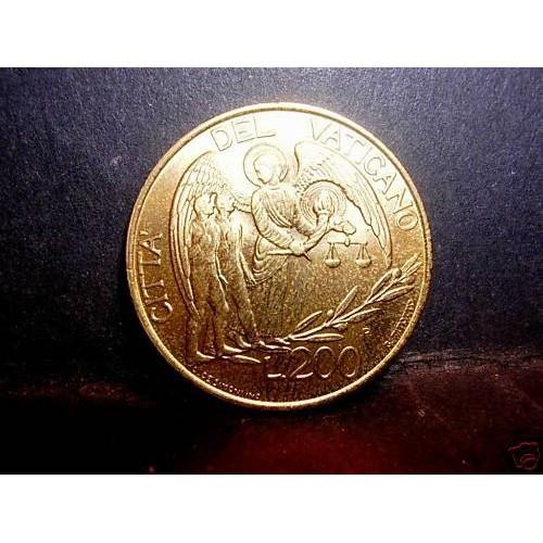 VATICANO 200 Lire 1997