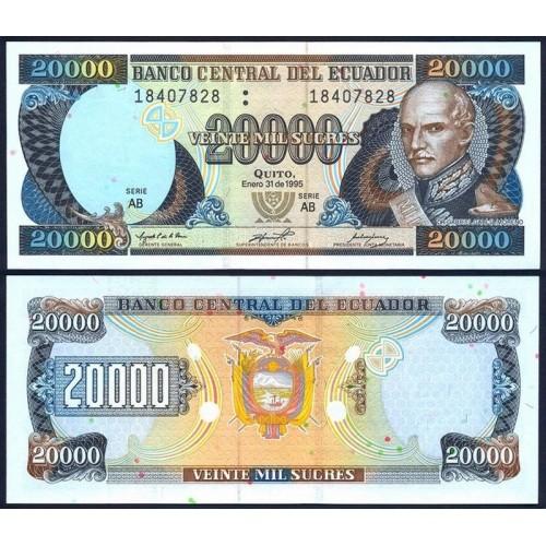 ECUADOR 20.000 Sucres 1995