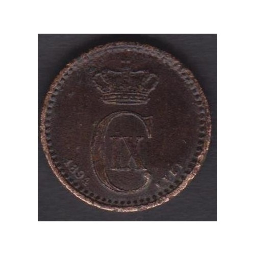 DENMARK 1 Ore 1894