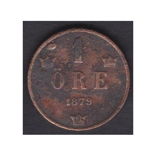 SWEDEN 1 Ore 1879