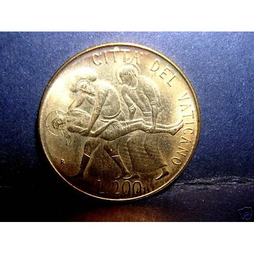 VATICANO 200 Lire 1981