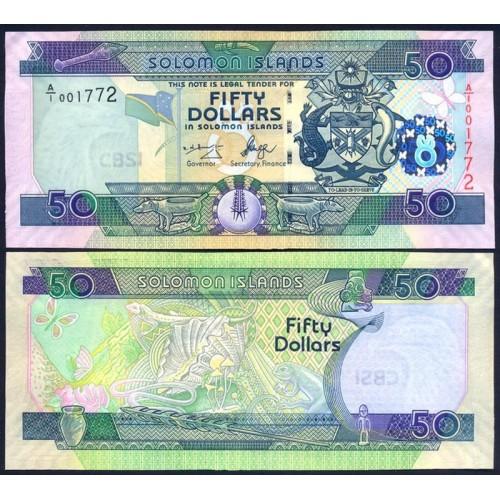 SOLOMON ISLANDS 50 Dollars...