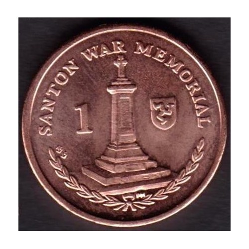 ISLE OF MAN 1 Penny 2014