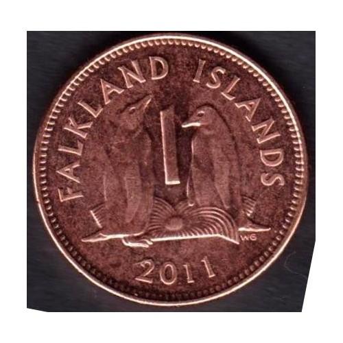 FALKLAND ISLANDS 1 Penny 2011