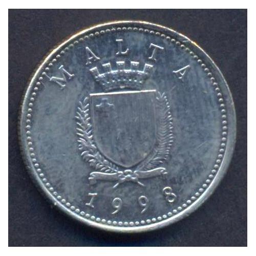 MALTA 2 Cents 1998