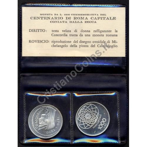 1000 LIRE 1970 ROMA...
