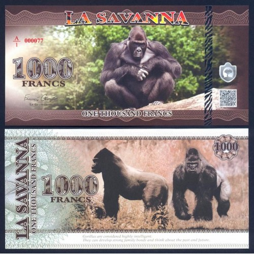 LA SAVANNA 1000 Francs 2015