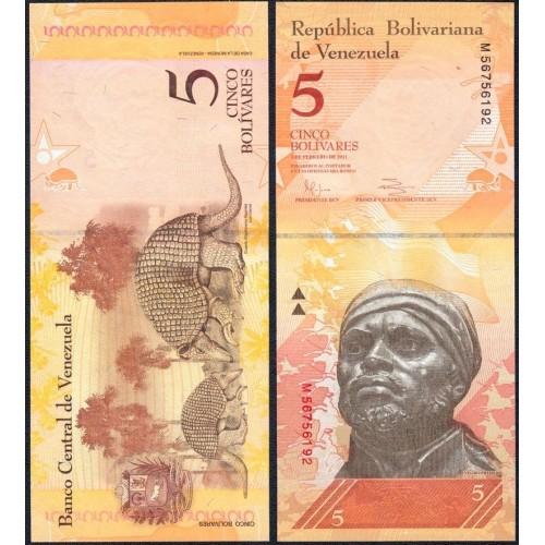 VENEZUELA 5 Bolivares 2011