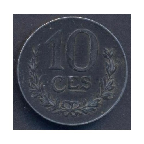 LUXEMBOURG 10 Centimes 1918