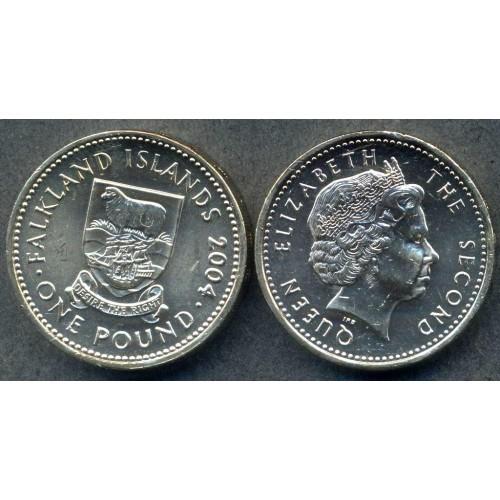 FALKLAND ISLANDS 1 Pound 2004