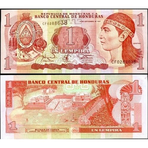 HONDURAS 1 Lempira 1997