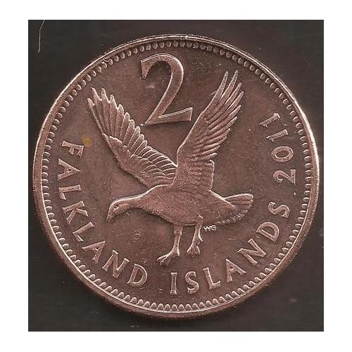 FALKLAND ISLANDS 2 Pence 2011