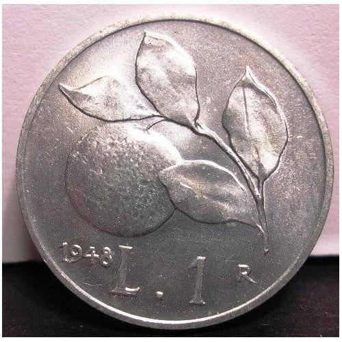 1 LIRA 1948