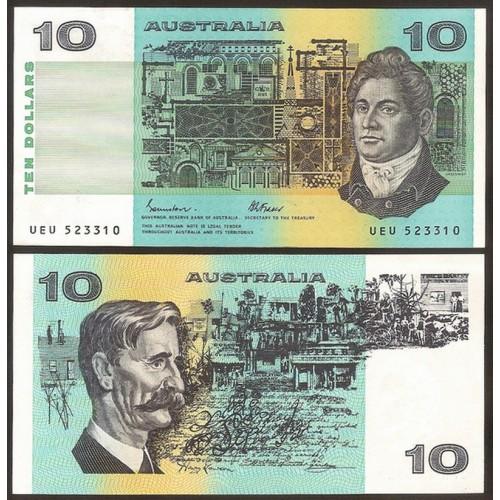 AUSTRALIA 10 Dollars 1985