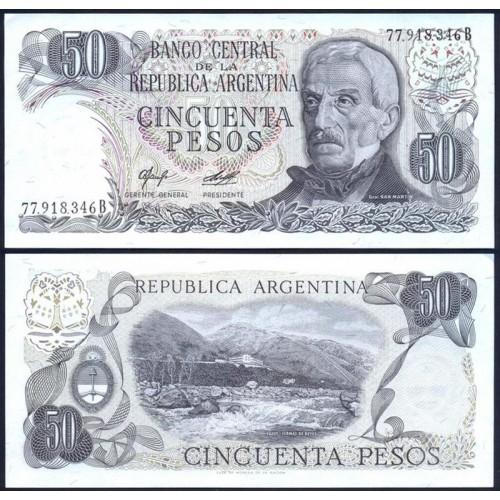 ARGENTINA 50 Pesos 1976
