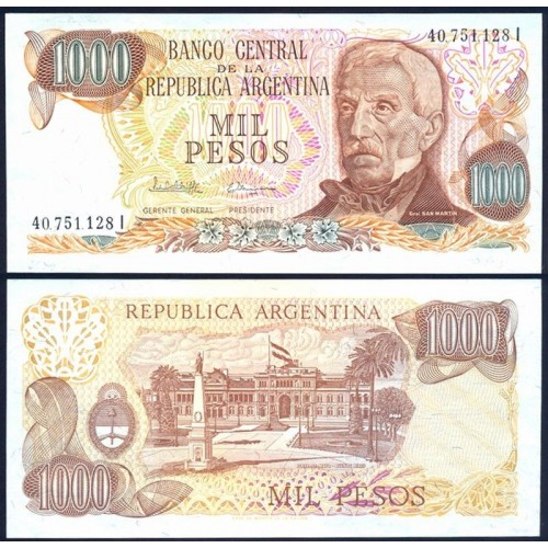 ARGENTINA 1000 Pesos 1976
