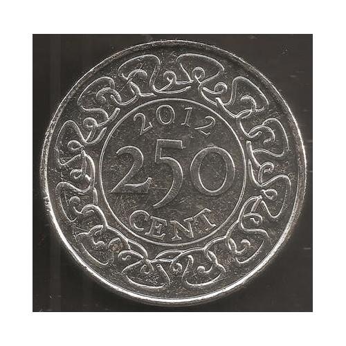 SURINAME 250 Cents 2012
