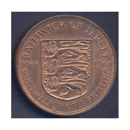 JERSEY 1/12 Shilling 1966