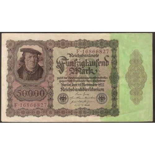 GERMANY 50.000 Mark 1922