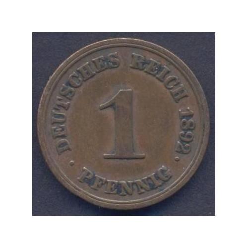 GERMANY EMPIRE 1 Pfennig...
