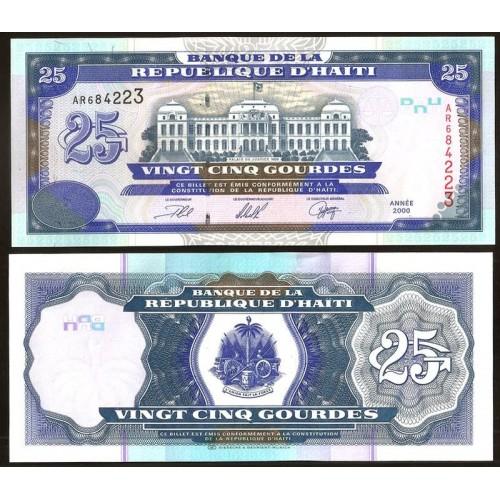 HAITI 25 Gourdes 2000