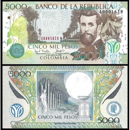 COLOMBIA 5000 Pesos 2003