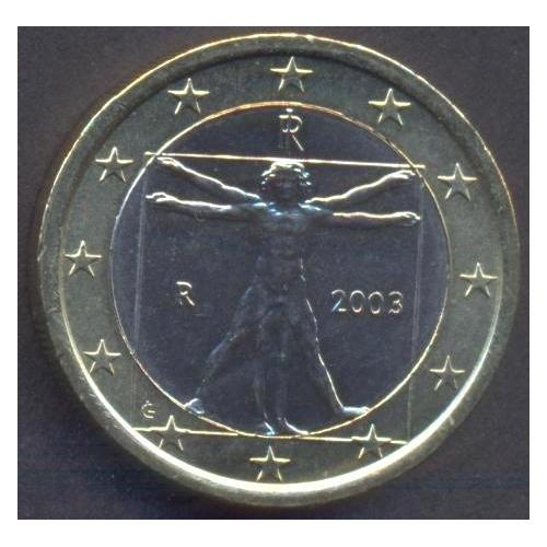 ITALIA 1 EURO 2003