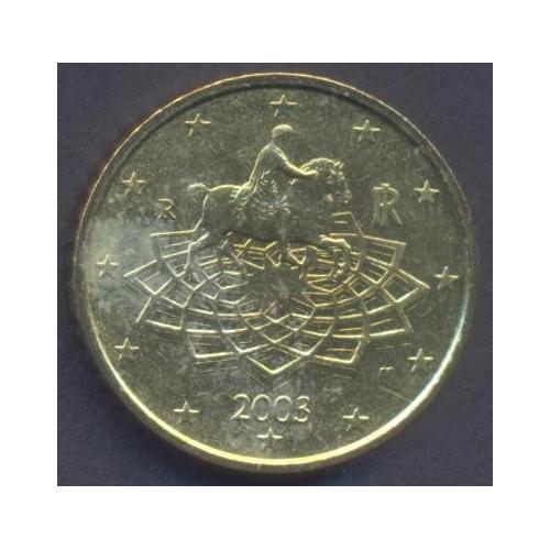 ITALIA 50 Euro Cent 2003