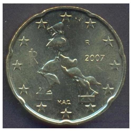 ITALIA 20 Euro Cent 2007