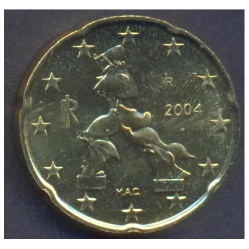 ITALIA 20 Euro Cent 2004