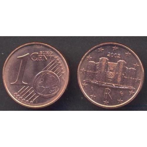 ITALIA 1 Euro Cent 2002