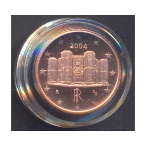 ITALIA 1 Euro Cent 2004 Proof