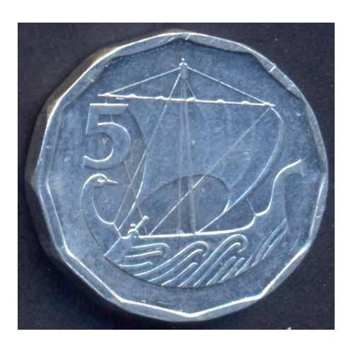 CYPRUS 5 Mils 1981