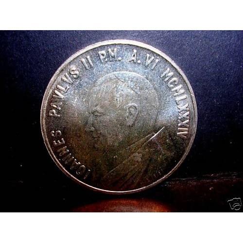VATICANO 1000 Lire 1984 AG