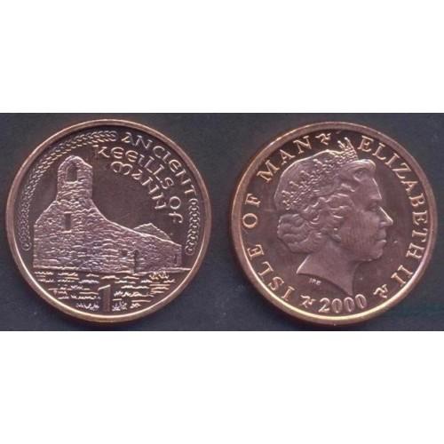 ISLE OF MAN 1 Penny 2000