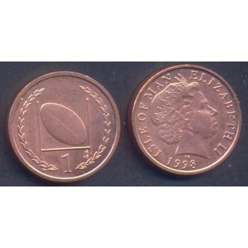 ISLE OF MAN 1 Penny 1998