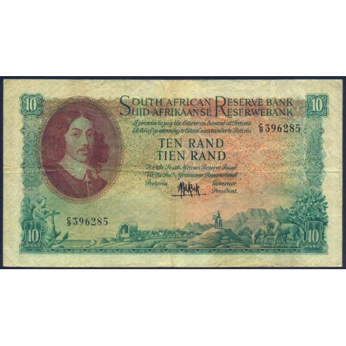 SOUTH AFRICA 10 Rand 1961/65