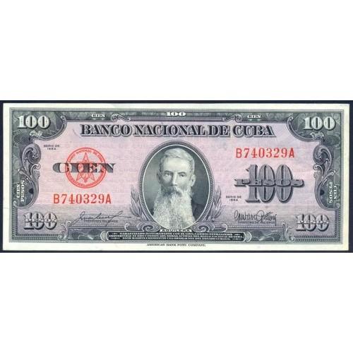 CUBA 100 Pesos 1954