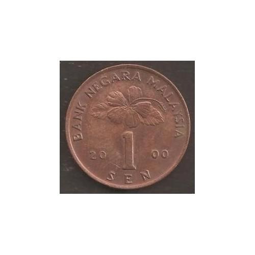 MALAYSIA 1 Sen 2000