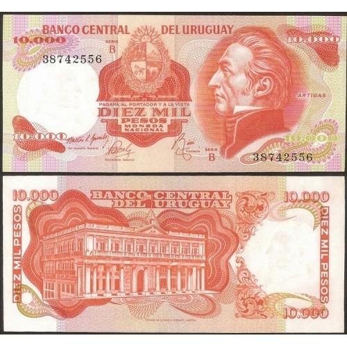 URUGUAY 10.000 Pesos 1974