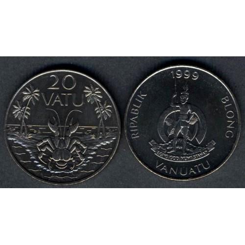 VANUATU 20 Vatu 1999