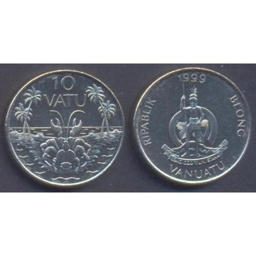 VANUATU 10 Vatu 1999