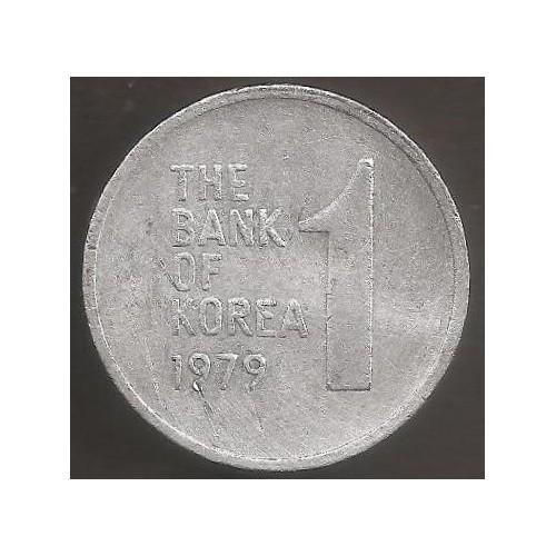 SOUTH KOREA 1 Won 1979