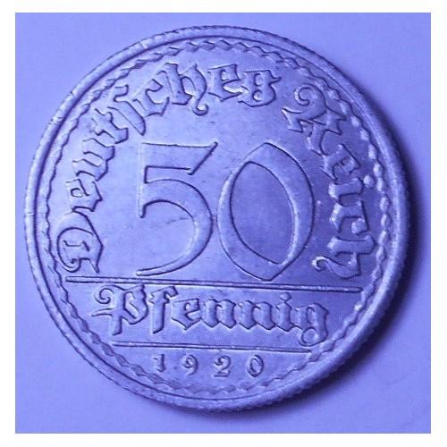 GERMANY WEIMAR REPUBLIC 50...