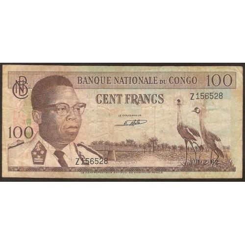 CONGO DEMOCRATIC 100 Francs...